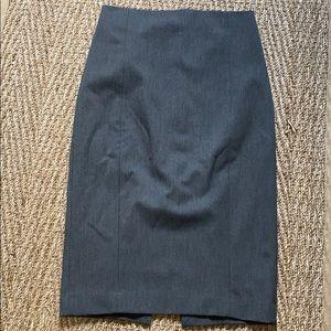 Express- Gray pencil skirt